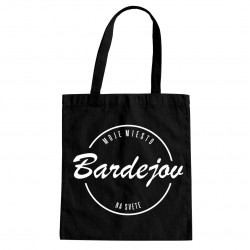 Bardejov - moje miesto na svete - taška s potlačou