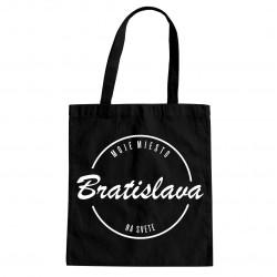 Bratislava - moje miesto na svete - taška s potlačou