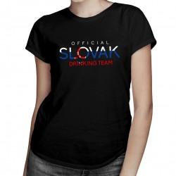 Official slovak drinking team - dámske tričko s potlačou