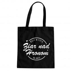 Žiar nad Hronom - moje miesto na svete - taška s potlačou