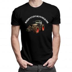Budem vo svojej kancelárii - pánske tričko s potlačou