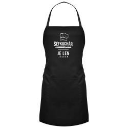 Šéfkuchár je len jeden - zástera s potlačou