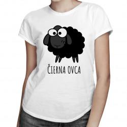 Čierna ovca - dámske tričko s potlačou