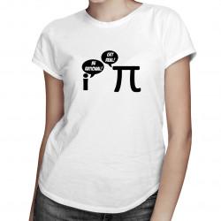 Be Rational/Get Real - dámske tričko s potlačou