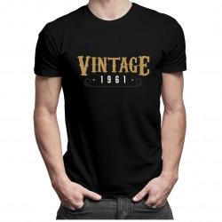 Vintage 1961 - pánske tričko s potlačou